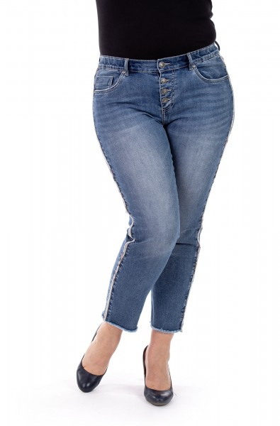 Heather T112 - Cropped - Skinny Fit